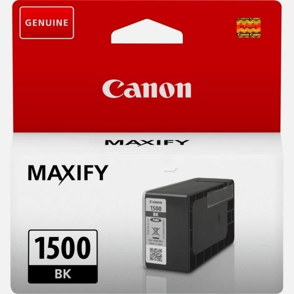 Original Canon 9218B001 / PGI-1500 BK Tintenpatrone schwarz 12,4 ml 400 Seiten