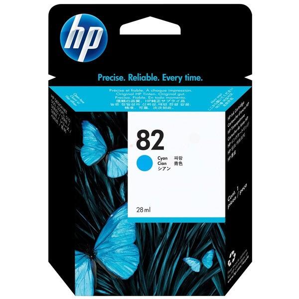 Original HP C4911A / 82 Tintenpatrone cyan 69 ml 4.300 Seiten