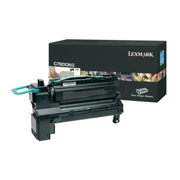 Original Lexmark C792X2KG Tonerkartusche schwarz 20.000 Seiten