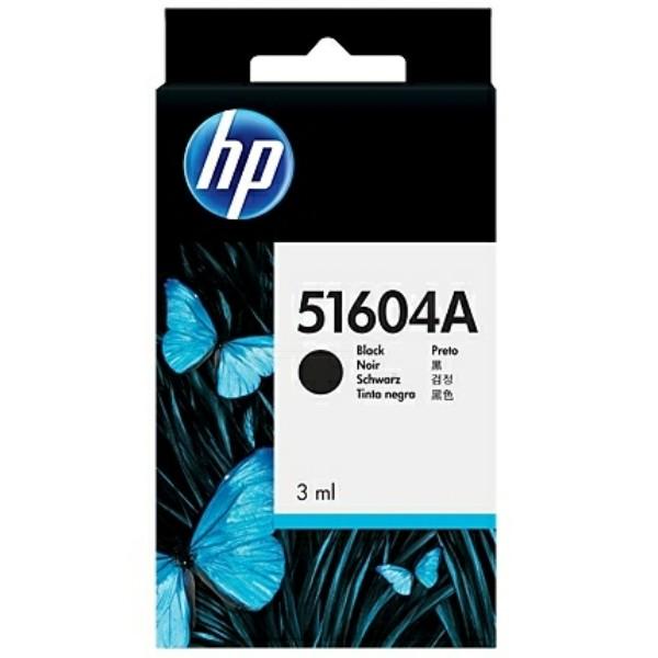Original HP 51604A Druckkopfpatrone schwarz für Normalpapier 3 ml 500 Seiten