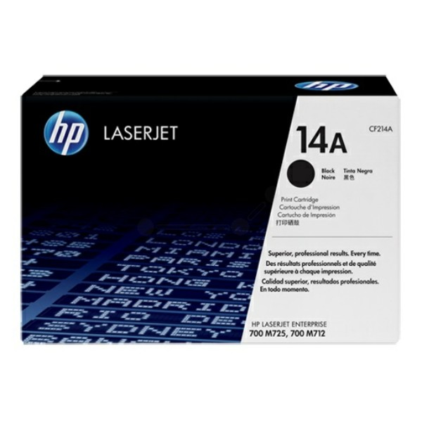 Original HP CF214A / 14A Tonerkartusche schwarz 10.000 Seiten