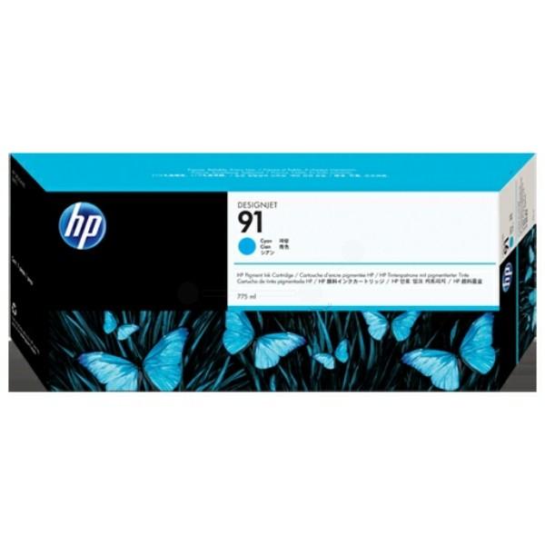 Original HP C9467A / 91 Tintenpatrone cyan 775 ml