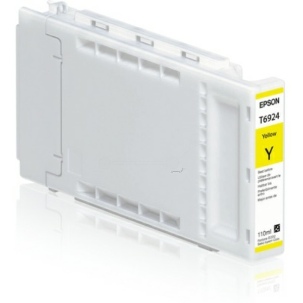Original Epson C13T692400 / T6924 Tintenpatrone gelb 110 ml
