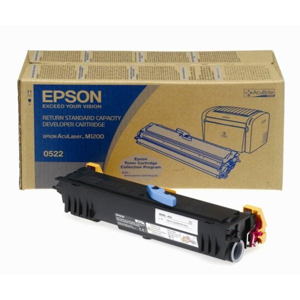 Original Epson C13S050522 / 0522 Toner-Kit schwarz return program 1.800 Seiten