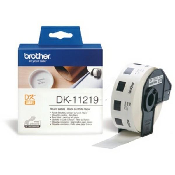 Original Brother DK11219 DirectLabel Etiketten rund 1200
