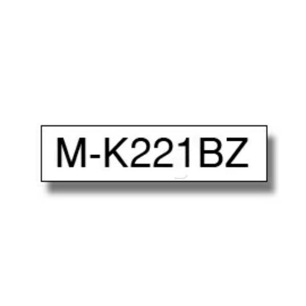 Original Brother MK221BZ DirectLabel schwarz auf weiss