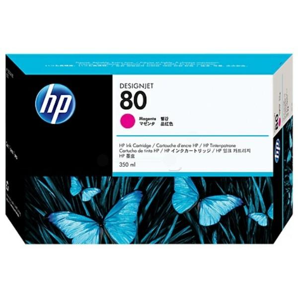 Original HP C4847A / 80 Tintenpatrone magenta High-Capacity 350 ml 4.400 Seiten