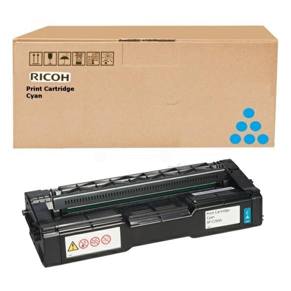 Original Ricoh 407532 Toner cyan 4.000 Seiten