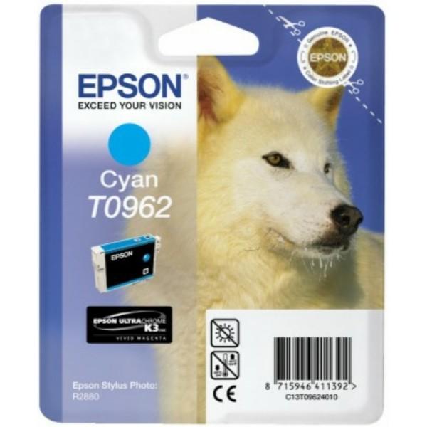 Original Epson C13T09624010 / T0962 Tintenpatrone cyan 11,4 ml 1.505 Seiten