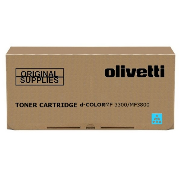 Original Olivetti B1101 Toner cyan 10.000 Seiten