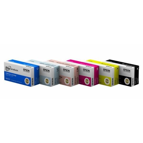 Original Epson C13S020447 / PJIC1 Tintenpatrone cyan 26 ml