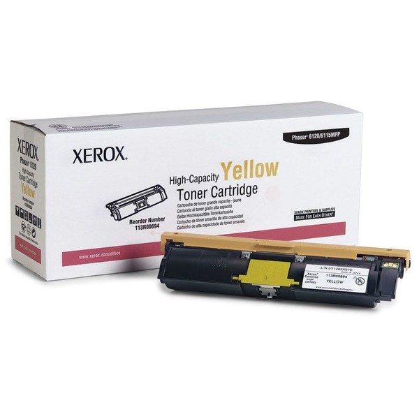 Original Xerox 113R00694 Toner gelb 4.500 Seiten