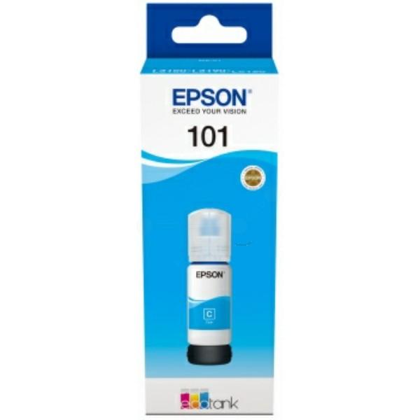 Original Epson C13T03V24A / 101 Tintentank cyan 70 ml