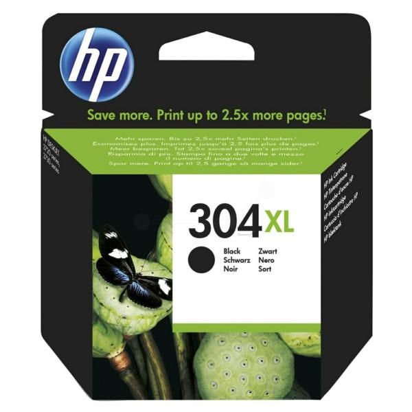 Original HP N9K08AE / 304XL Druckkopfpatrone schwarz 5,5 ml 300 Seiten
