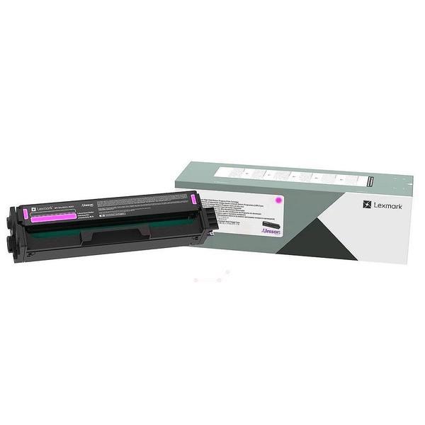 Original Lexmark C332HM0 Toner-Kit magenta return program 2.500 Seiten