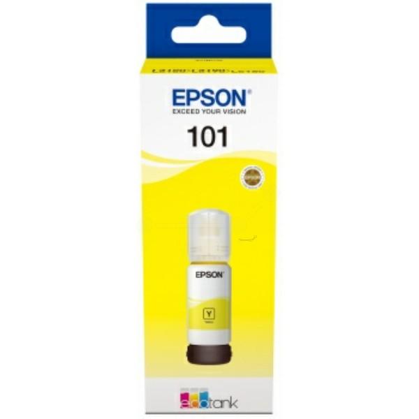 Original Epson C13T03V44A / 101 Tintentank gelb 70 ml