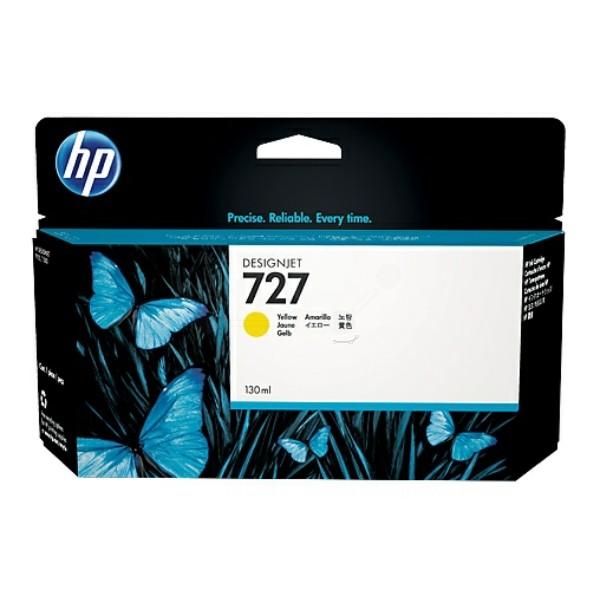 Original HP B3P21A / 727 Tintenpatrone gelb 130 ml