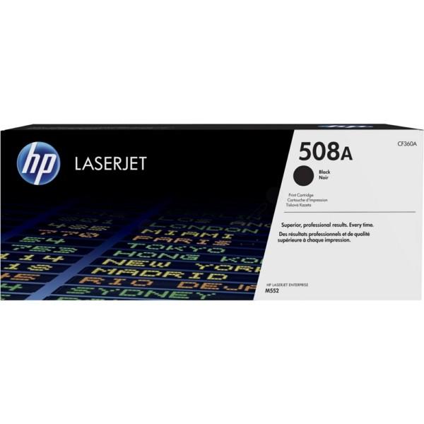 Original HP CF360A / 508A Tonerkartusche schwarz 6.000 Seiten