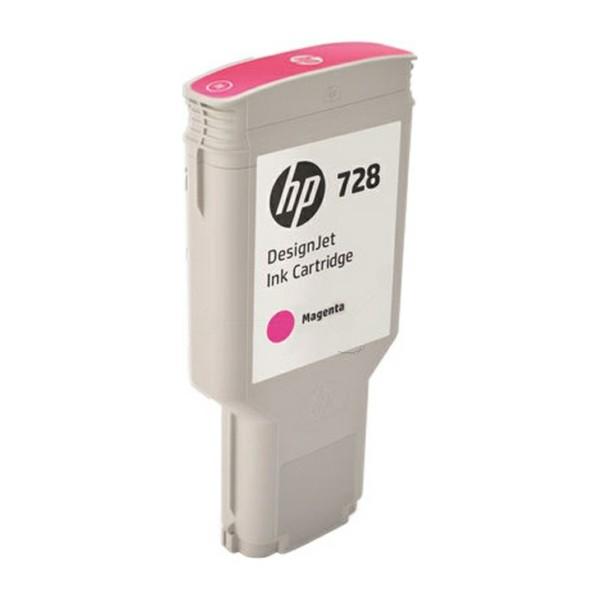 Original HP F9K16A / 728 Tintenpatrone magenta 300 ml
