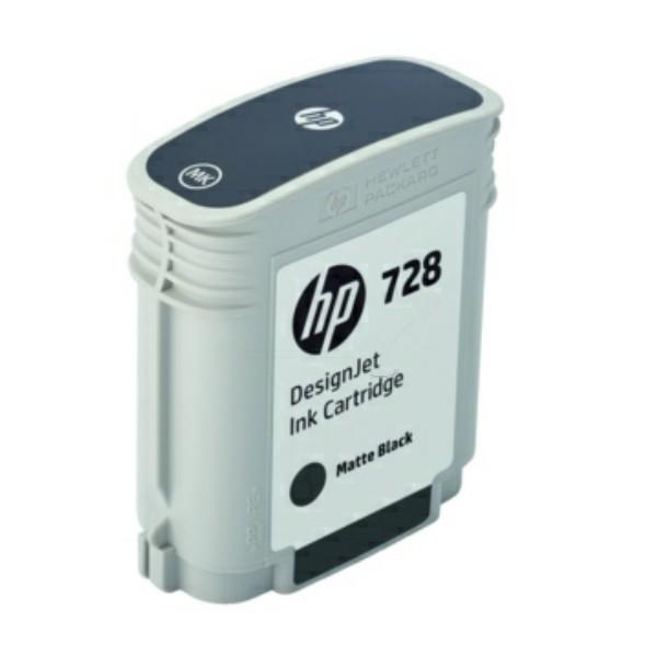 Original HP F9J64A / 728 Tintenpatrone schwarz matt 69 ml