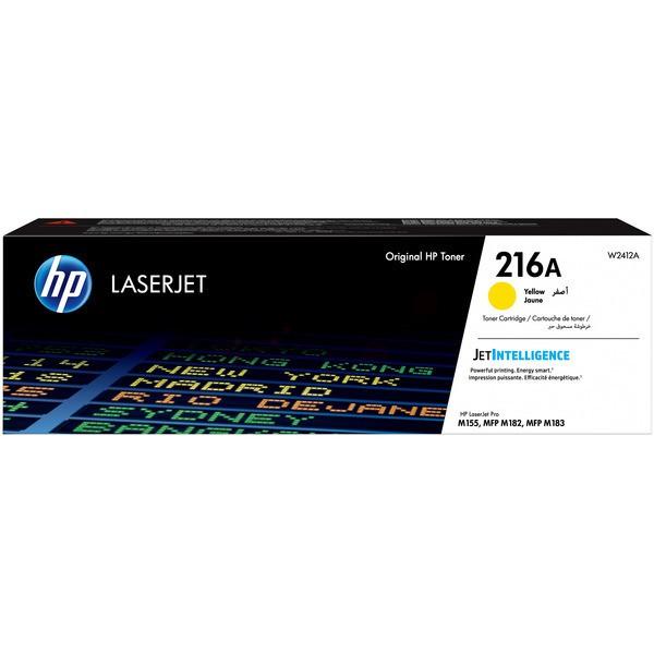Original HP W2412A / 216A Tonerkartusche gelb 850 Seiten