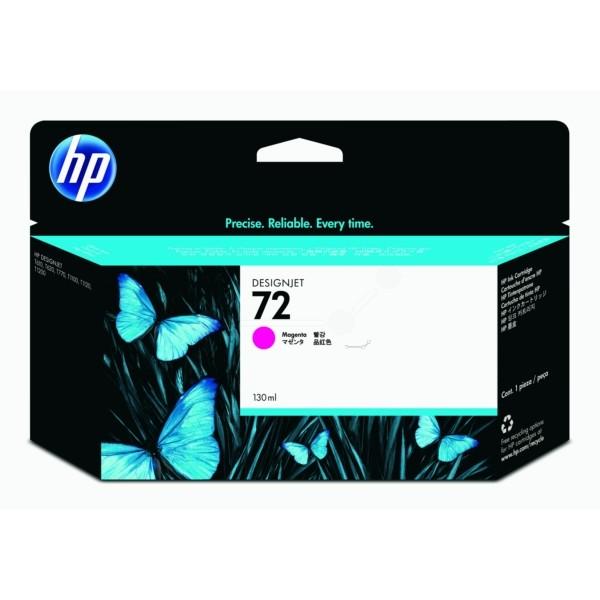 Original HP C9372A / 72 Tintenpatrone magenta 130 ml