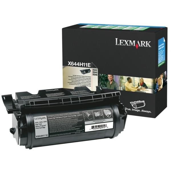 Original Lexmark X644H11E Tonerkartusche schwarz return program 21.000 Seiten