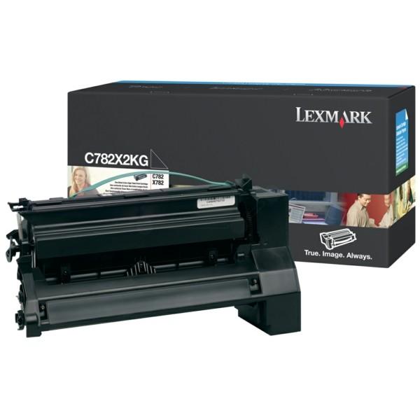 Original Lexmark C782X2KG Tonerkartusche schwarz 15.000 Seiten