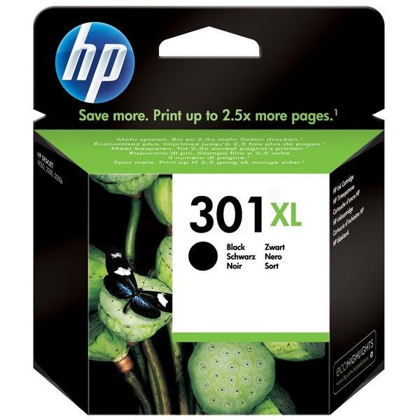 Original HP CH563EE / 301XL Druckkopfpatrone schwarz High-Capacity 8 ml 480 Seiten