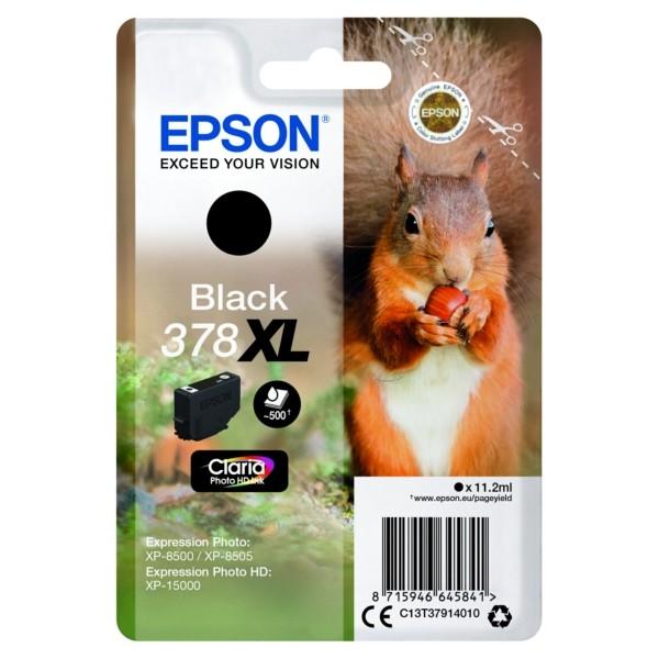 Original Epson C13T37914010 / 378XL Tintenpatrone schwarz 11,2 ml 500 Seiten