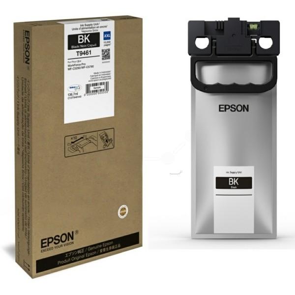 Original Epson C13T946140 / T9461 Tintenpatrone schwarz 136,7 ml 10.000 Seiten