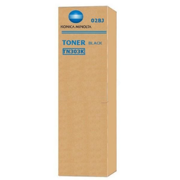 Original Konica Minolta 02BP / TN-303 K Toner schwarz 29.000 Seiten