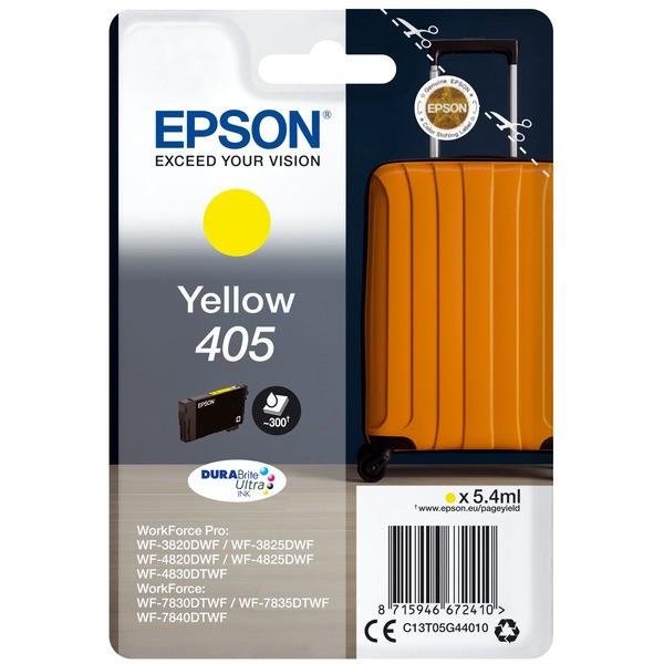 Original Epson C13T05G44010 / 405 Tintenpatrone gelb 5,4 ml 300 Seiten