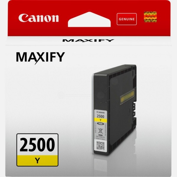 Original Canon 9303B001 / PGI-2500 Y Tintenpatrone gelb 9,6 ml 700 Seiten