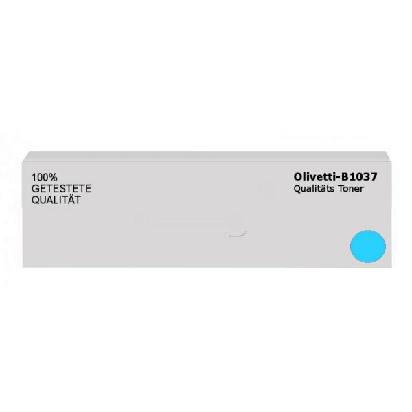 Original Olivetti B1037 Toner cyan 25.000 Seiten