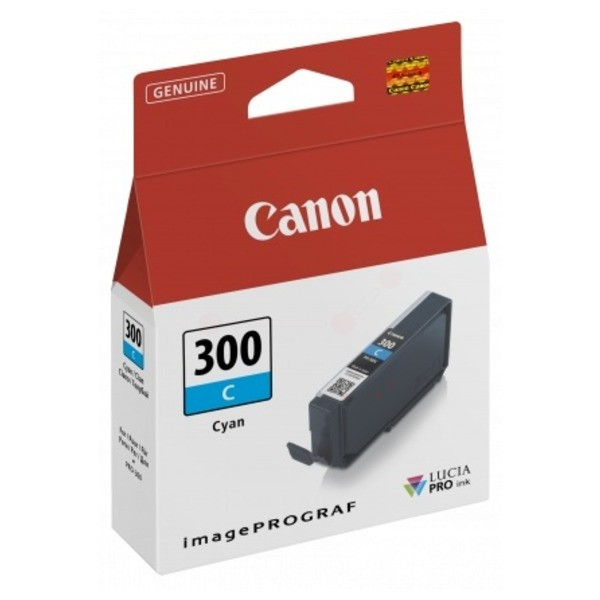 Original Canon 4194C001 / PFI-300 C Tintenpatrone cyan 14,4 ml