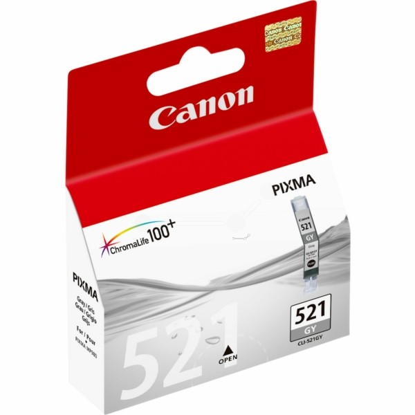 Original Canon 2937B001 / CLI-521 GY Tintenpatrone grau 9 ml 1.370 Seiten