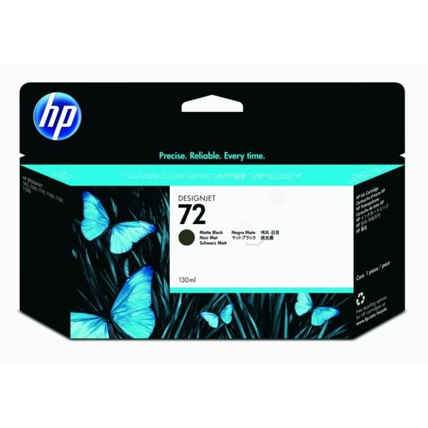 Original HP C9403A / 72 Tintenpatrone schwarz matt 130 ml