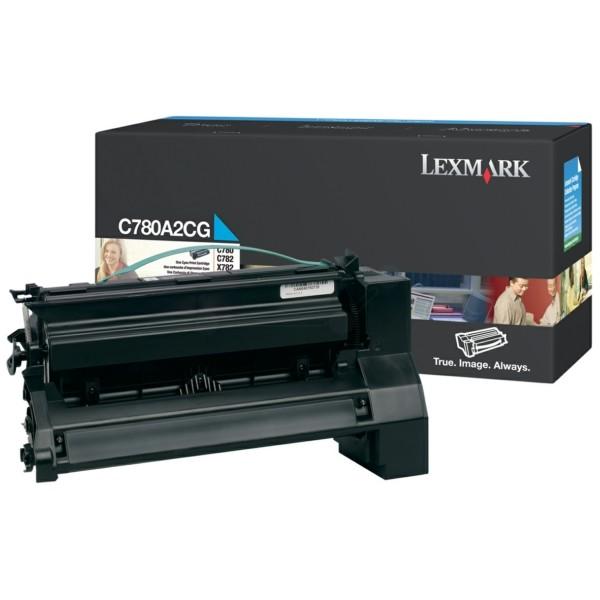 Original Lexmark C780A2CG Tonerkartusche cyan 6.000 Seiten