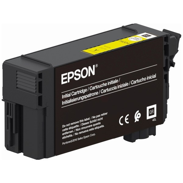 Original Epson C13T40D440 / T40 Tintenpatrone gelb 50 ml