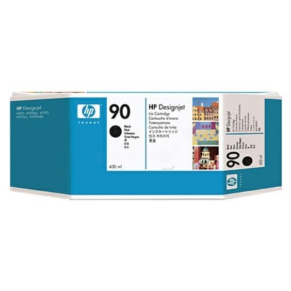 Original HP C5058A / 90 Tintenpatrone schwarz 400 ml 1.200 Seiten