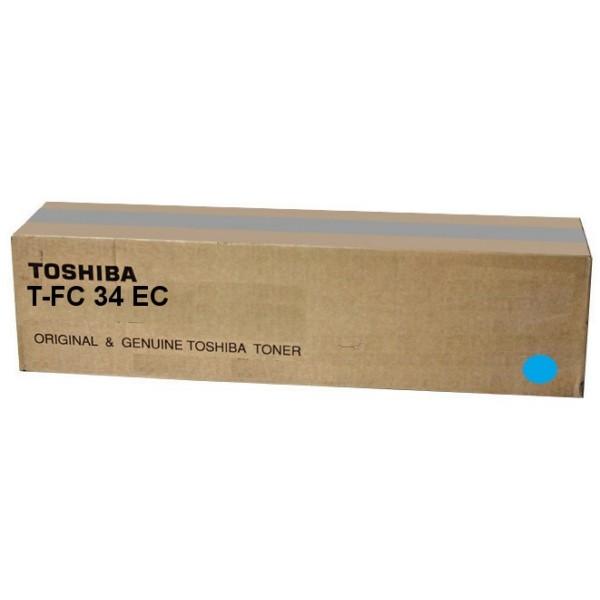 Original Toshiba 6A000001524 / T-FC 34 EC Toner cyan 11.500 Seiten
