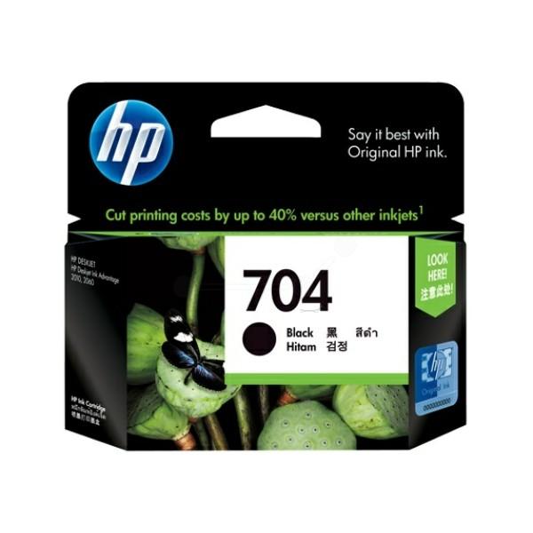Original HP CN692AE / 704 Druckkopfpatrone schwarz 8,5 ml 480 Seiten