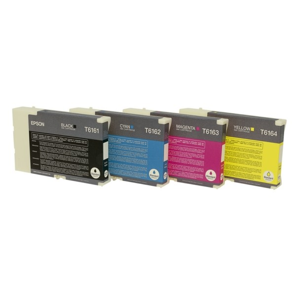Original Epson C13T616100 / T6161 Tintenpatrone schwarz 76 ml 3.000 Seiten