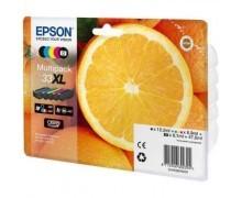 Original Epson C13T33574010 / 33XL Tinte Multipack (Inhalt: pbk,bk,c,m,y)
