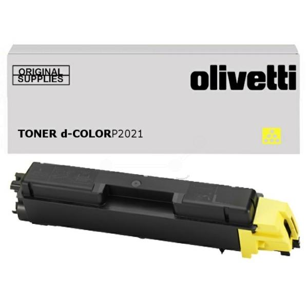 Original Olivetti B0951 Toner gelb 2.800 Seiten