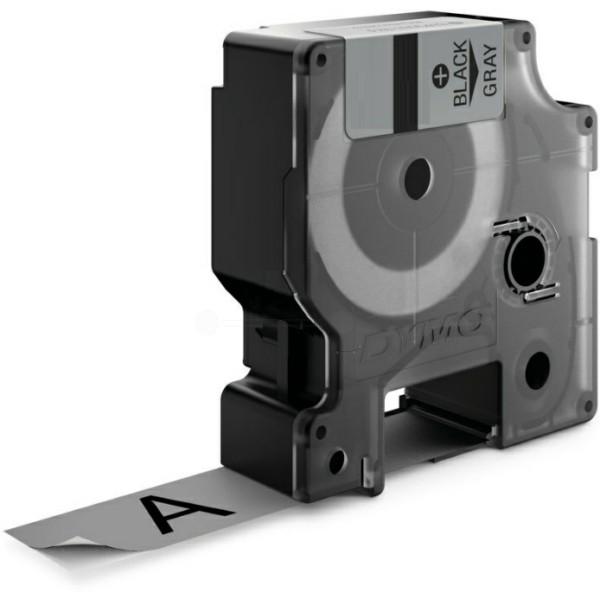 Original Dymo 18760 / S0718170 Farbband Polyester permanent schwarz auf grau