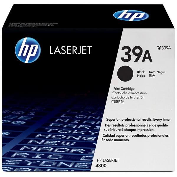 Original HP Q1339A / 39A Tonerkartusche schwarz 18.000 Seiten