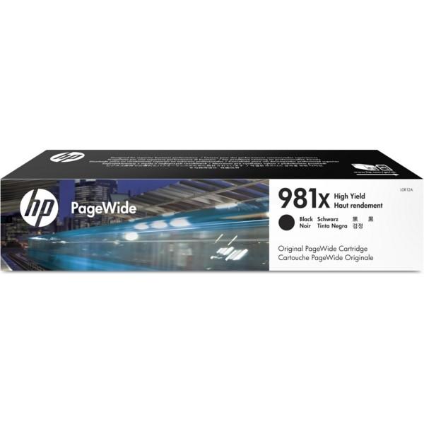 Original HP L0R12A / 981X Tintenpatrone schwarz 194 ml 11.000 Seiten