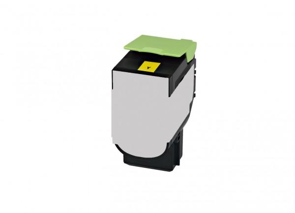 Alternativ Lexmark 80C2SY0 / 802SY Toner yellow 2.000 Seiten